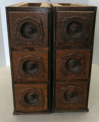 Antique Vintage Cast Iron Singer Treadle Sewing Machine Drawers Frames Deluxe