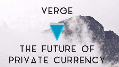 100 Verge CryptoCoin - The Best Privacy Coin!  from trusted Germany!