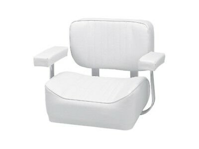 Boat Deluxe Helm Chair With Arm Rests 480mm x 605mm High Quality Free Shipping