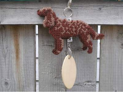 American Water Spaniel dog crate tag or hang anywhere handmade sign ornament art