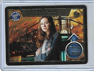Monster Invasion Extreme Autograph Card 2/3 Amy Pond B.B.C.MAGAZINE 2012