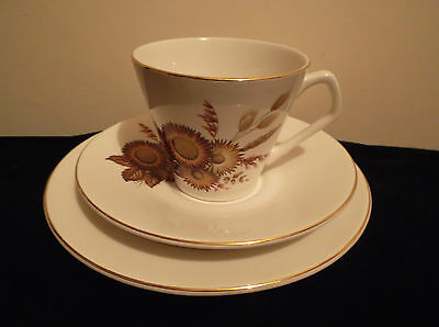 Lord Nelson Pottery Contessa Giftware Ltd Tea Cup, Saucer & Side Plate Trio