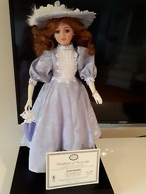 Hill view Lane Limited edition  60cm Doll