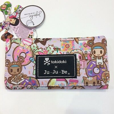 Ju Ju Be x tokidoki Donutella's Sweet Shop Be Rich Wallet