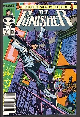 Punisher #1 (1987)~Klaus Janson cover and art~ VF-
