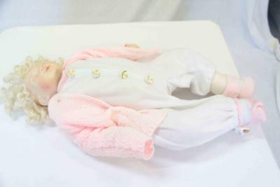 Vintage 1983 Hush-a-By Baby Doll Porcelain #14098