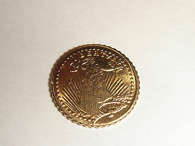 SAINT GAUDEN MINI GOLD COIN - beautifull collectible coin