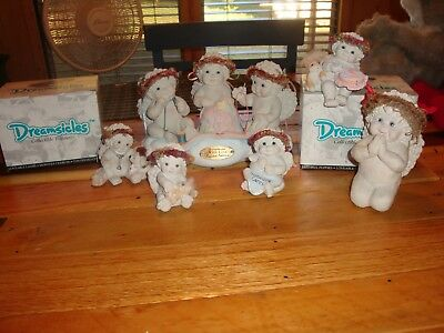 Small Lot Of Different Dreamsicles Large Limited Edition Praying Cherub Others