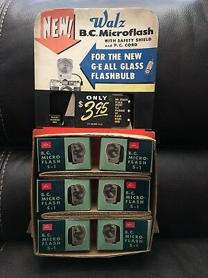 Vintage sealed packs of 6 Walz Micro Flash S-1 Made in Japan Brand New