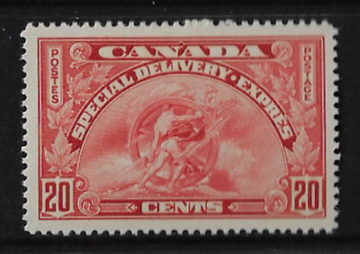 Canada Stamps - 1935, Old Special Delivery Stamp #E6 - MH