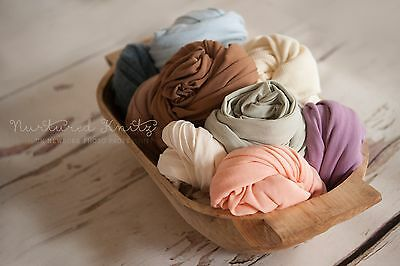 Various Colours|Fine Jersey Super Stretch Wraps| Newborn Photography- Photo Prop