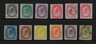 "Canada Stamps - 1898-1902, Queen Victoria ""Numeral"" Issue"