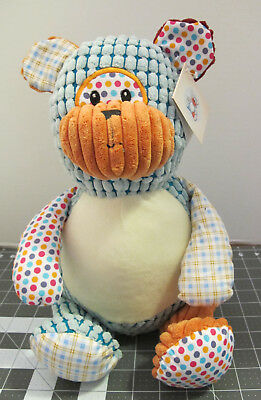 Baby Cubbies Harlequin Collection Plush Bear for Embroidery