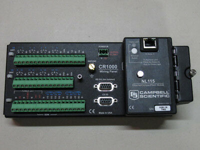 Campbell Scientific CR1000 with CR1000M (4MB) and NL115 Ethernet Module