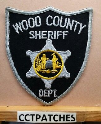 Wood County, West Virginia Sheriff (Police) Shoulder Patch Wv