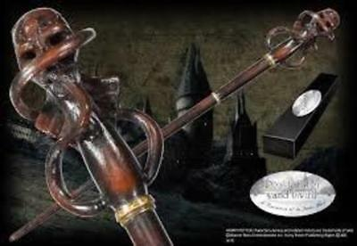 Harry Potter : DEATH EATER WAND Version 3 (Swirl) Character Edition NN8224