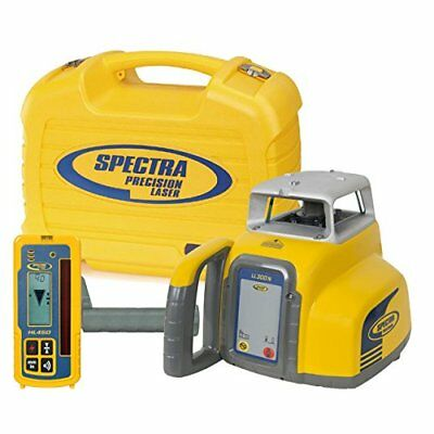 Spectra Precision Laser LL300N Automatic Self-leveling Level w/HL450 Receiver...