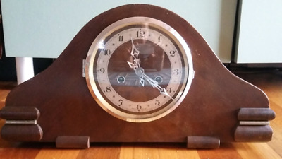 Mantel Clock 1940s - Enfield - Made in England