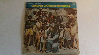 JIMMY LONDON - CHILDREN CRYING IN THE CHETTO/REGGAE LP Roots Man Label 1979