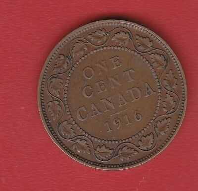 Canada 1 Cents 1916
