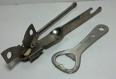 Pair of can / bottle openers - Miracle can opener, Beba GuaraSuco bottle opener