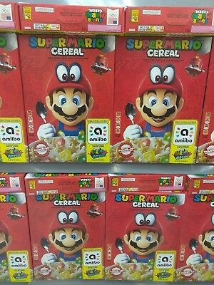 Kellog's SUPER MARIO ODYSSEY CEREAL VERY LIMITED  Nintendo  SHIPS NOW