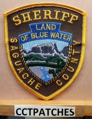 Saguache County, Colorado Sheriff (Police) Shoulder Patch Co