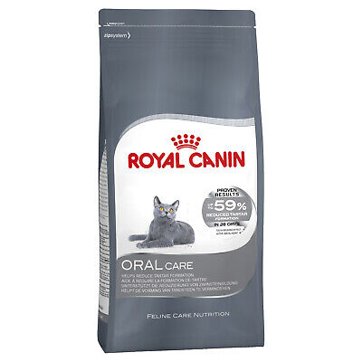 Royal Canin Oral Care Dry Cat Food for Dental Health - 8kg