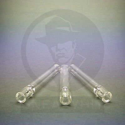 Glass Chillum OG Pyrex One Hitter Pipe Oney THREE COUNT  - FREE SHIP FROM VEGAS