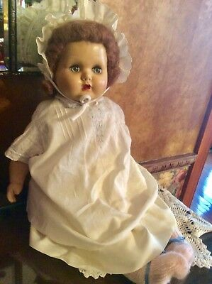 """Vintage Madame Alexander 1930's Composition With Cloth Body 24"""" Doll"""