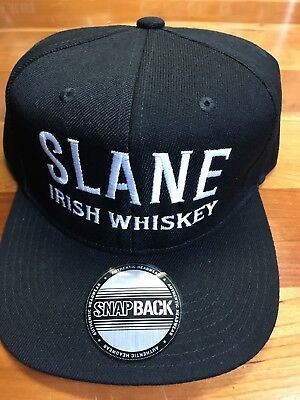 New Slane Irish Whiskey Baseball Snap Hat