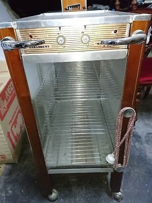 commercial mobile food and plate warmer