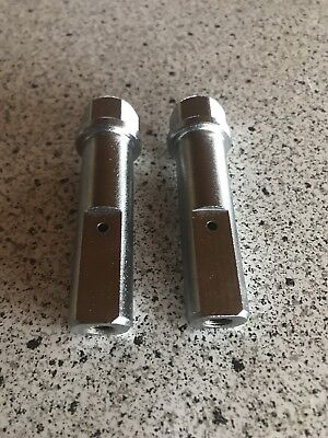 Haro Axle Pegs Nos Without Haro Nylon Covers Haro Master Sport 1991