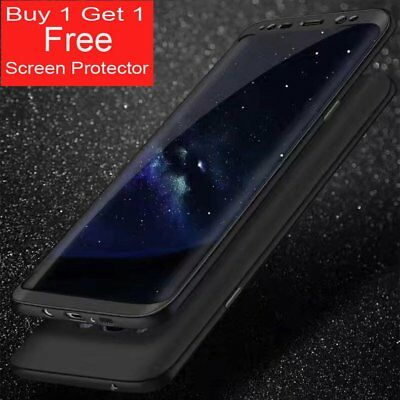 Ultra thin Slim 360° Protective Hard Case Cover For Samsung Galaxy S7 & S8 Plus