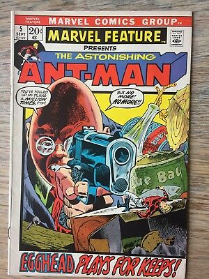 Marvel Feature #5 9 10 & 4 Presents the Astonishing Ant-Man and Red Sonja 1973