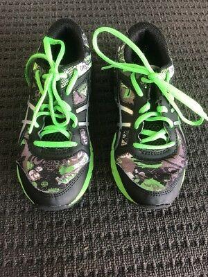ASICS Size 1 20cm Runners In Excellent Condition RRP:$170