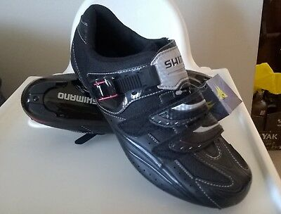 Shimano R106 Road Bike Bicycle Cycling Shoes Black - for SPD SL