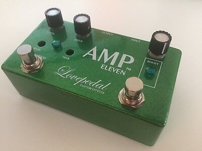 Lovepedal Amp Eleven Amp 11 - Mint condition - Transparent Overdrive + COT