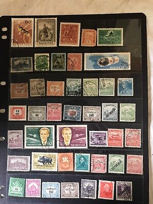 stamps  Hungary - MH and Used - Lot 607