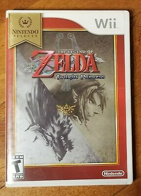 The Legend of Zelda  (Wii, 2006) complete great condition free shipping fun game