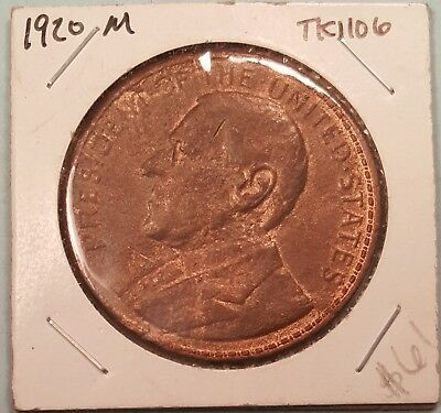 1920 Wilson So-Called Dollar Red & Brown #19C18