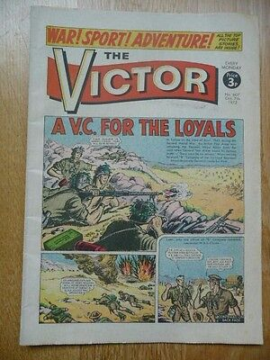 Vintage The Victor Comic No. 607 Oct. 7th, 1972