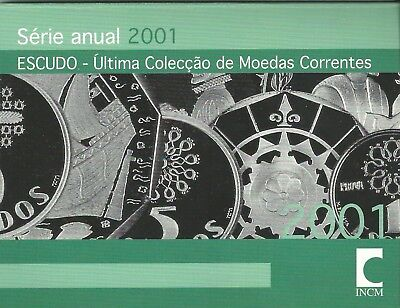 Portugal 2001,Escudos,Kursmünzen,Münzen,Coin set,KMS,Intro,Top