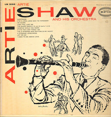 ARTIE SHAW AND HIS ORCH.-LP- ARTIE SHAW- ORG. EPIC-MONO-USA- 1950s-