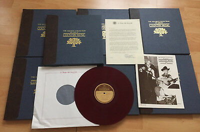 ARCHIVE COLLECTION OF GREAT COUNTRY MUSIC (Franklin Mint) 28 LPs * Johnny Cash