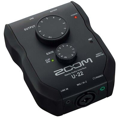 Zoom U22 mobiles USB Audio-Interface