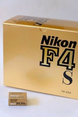 Nikon F4 F4s Professionally 35mm Camera Body Excellent In The Box NR