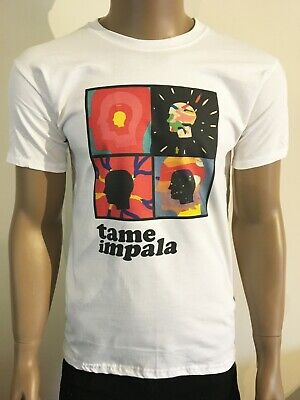 Tame Impala T Shirt Psychedelic Australian Rock Band Acid Lsd High Heads