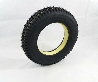 1x 3.00-8 Black Solid Block Tread Mobility Scooter Tyre (Good Care) 300 x 8 #NEW