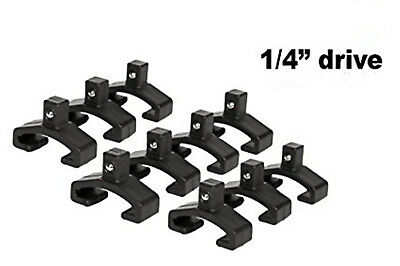 10pc Replacement Clips Socket Rail Tray Organizer On Snap Lock 1/4""